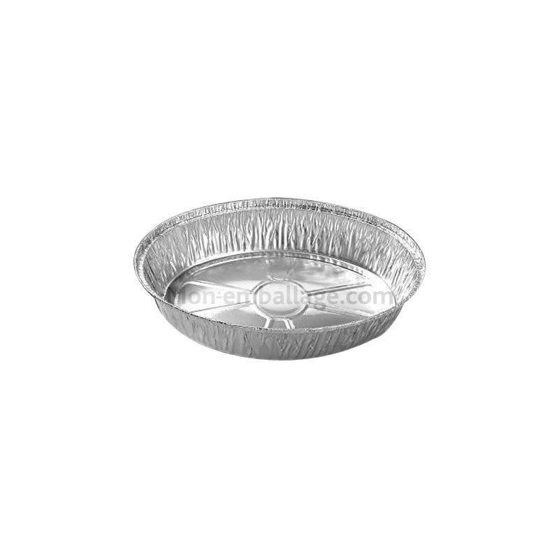 Achat grand plat aluminium ovale jetable 1 5 kg pas cher - Plat aluminium jetable ...