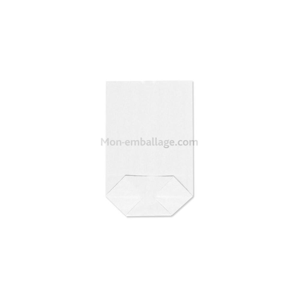 sachet corn papier kraft blanc 16 5 x 26 5 cm. Black Bedroom Furniture Sets. Home Design Ideas