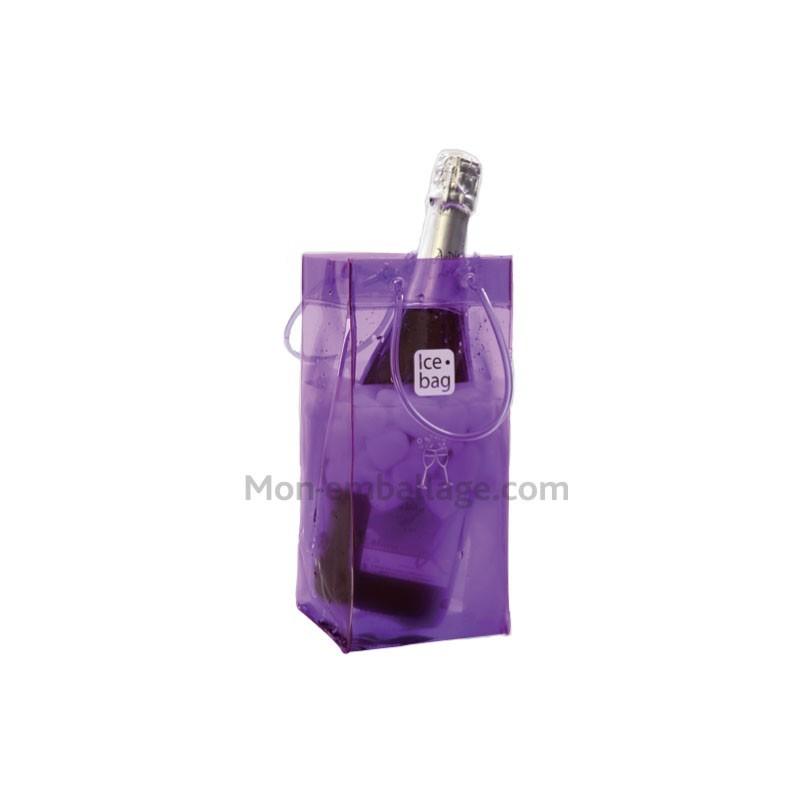 Vente sac gla ons ice bag violet pour 1 bouteille pas cher - Ice bag pas cher ...