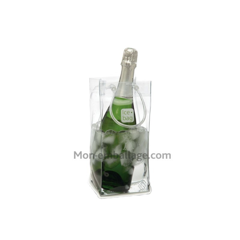 Achat sac pour bouteille ice bag transparent pas cher - Ice bag pas cher ...