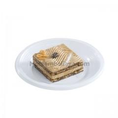Assiette plastique ronde 17 cm plate blanche - par 100