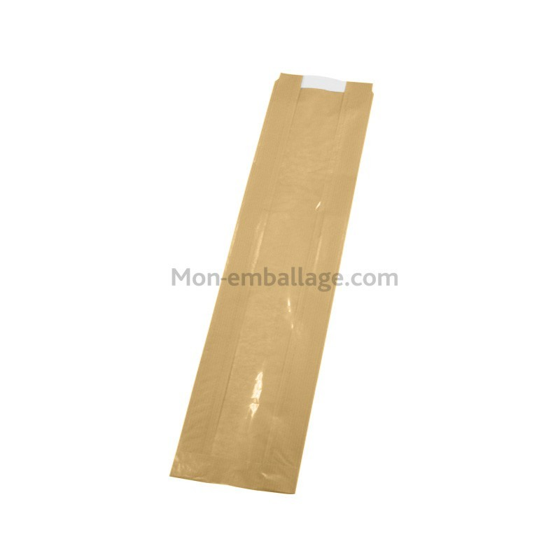 Fabricant grand sac pain kraft brun avec fen tre for Sac kraft fenetre