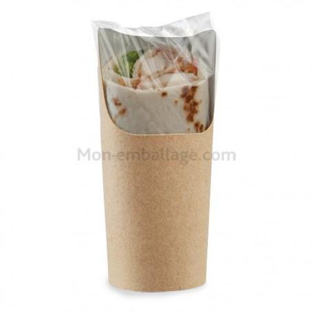 Emballage carton pour wrap - par 500