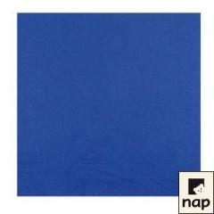 Serviette cocktail bleue marine 20 x 20 cm 2 feuilles - par 100