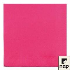 Serviette jetable céli-ouate 38 x 38 cm rose - par 50