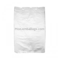 Sac liassé haute densité transparent 23 x 31 cm - par 5000