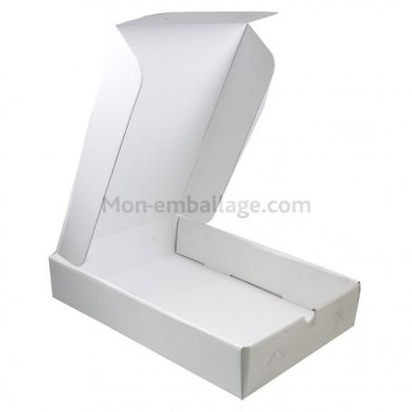 Boîte traiteur micro cannelures 28 x 19 x 6 cm - par 25