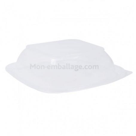 Couvercle pour barquette noire carrée de 750 gr - par 300