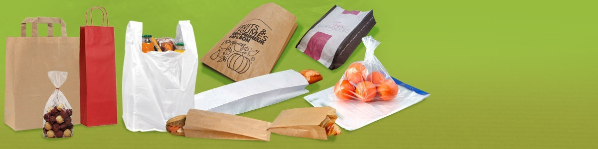 Sac papier fruits et légumes