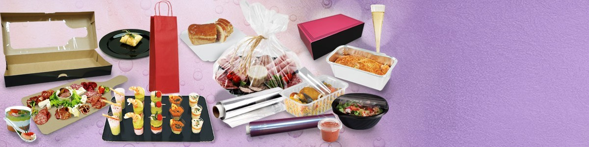 Emballage alimentaire traiteur