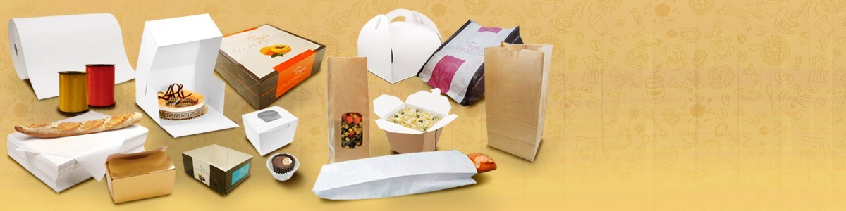 Emballage boulangerie et emballage pâtisserie