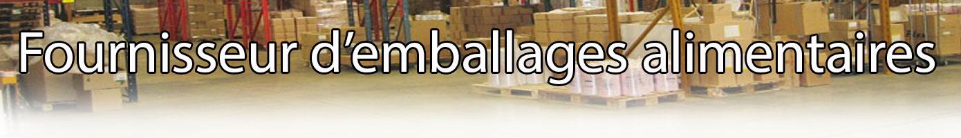 Fournisseur spécialiste d'emballages alimentaires