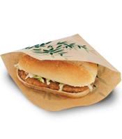 Sachet burger